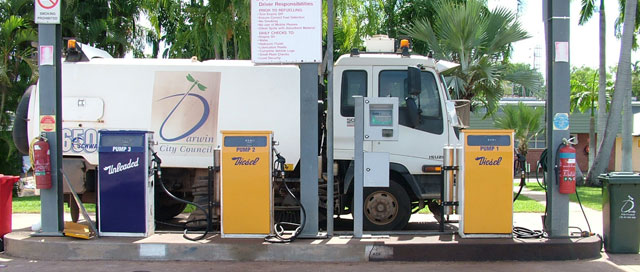 how to use bp fuel card at unmaned fuel depot